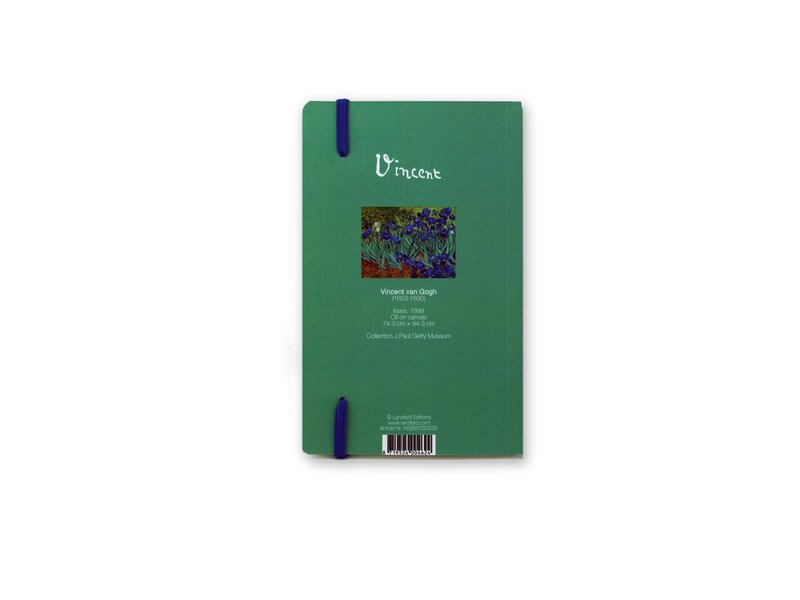 Softcover notitieboekje, Irissen, Van Gogh
