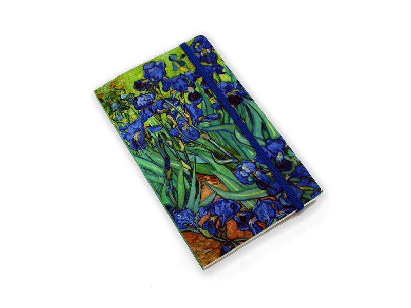 Cuaderno de tapa blanda, Iris, Van Gogh