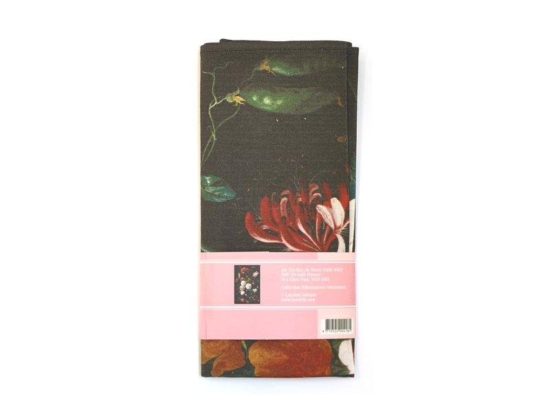 Torchon, Nature morte aux fleurs, De Heem