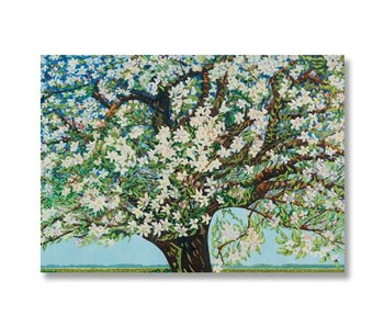 Poster, 50 x 70, Beemster, flowering tree, Toorop