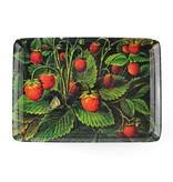 Mini dienblad , 21 x 14 cm, Schlesinger, Aardbeien