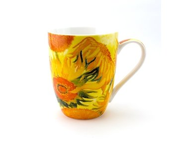 Mok, Zonnebloemen, Van Gogh