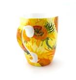 Becher, Sonnenblumen, Van Gogh