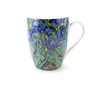 Taza, Iris, Vincent van Gogh