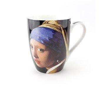 Tasse, Jeune fille à la perle, Vermeer