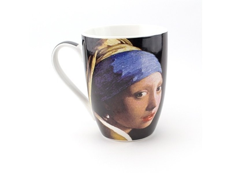 Taza, Chica con un arete de perla, Vermeer