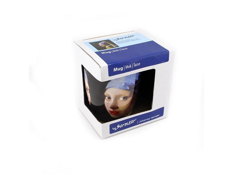 Beker, Meisje met de parel , Vermeer