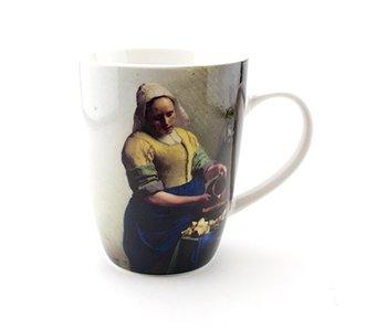 Becher, Das Milchmädchen, Vermeer