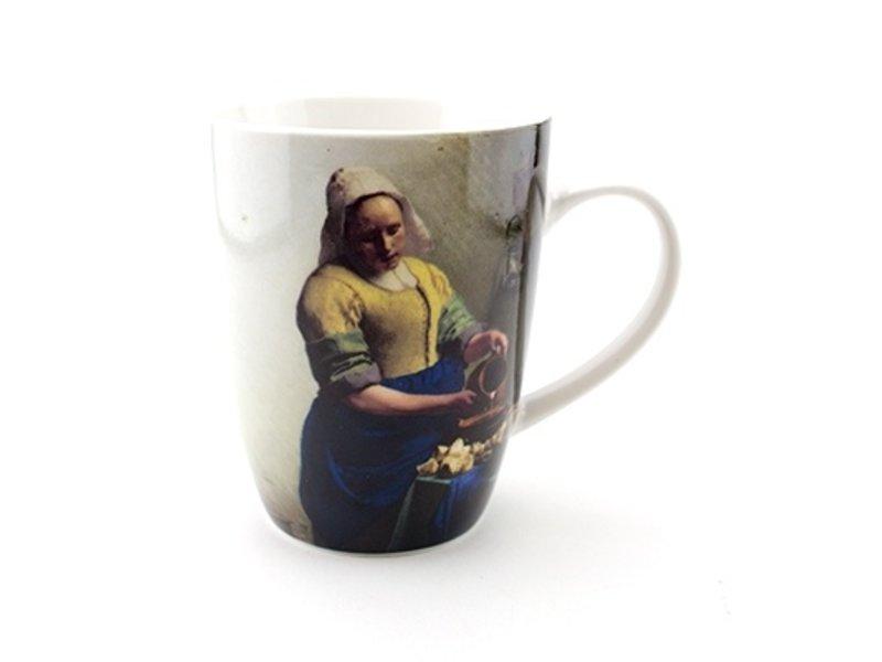 Becher, die Milchmagd, Vermeer