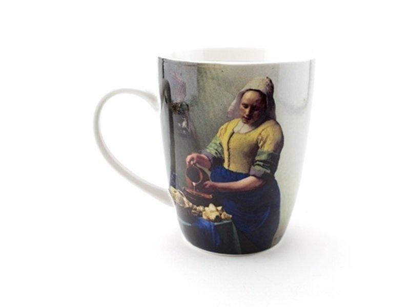 Beker, Het melkmeisje , Vermeer