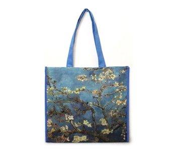 Bolso de compras, flor de almendro Van Gogh