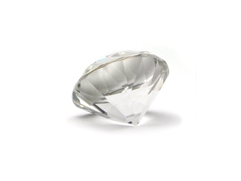 Paper Weight, Kristal Diamant