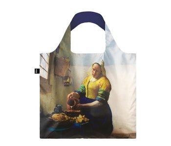 Opvouwbare shopper, Vermeer, Het Melkmeisje