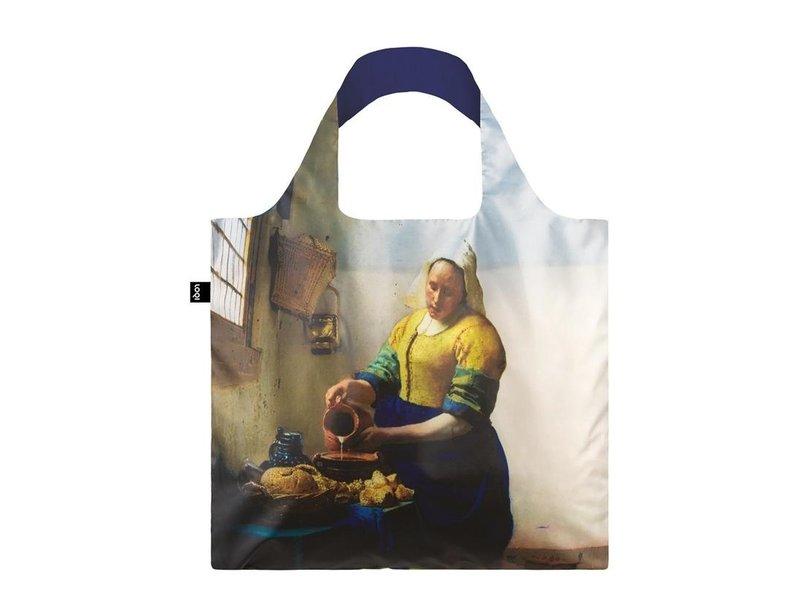 Faltbarer Shopper, Vermeer, die Milchmagd