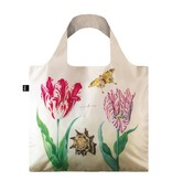Vouwtas, Twee tulpen, schelp en vlinder, Marrel