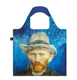 Shopper faltbar, Selbstporträt mit grauem Filzhut, Van Gogh