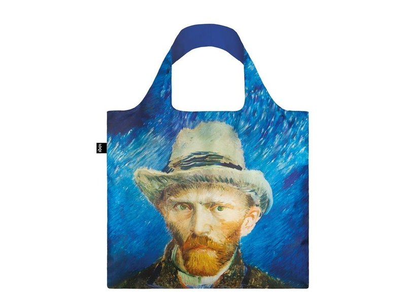 Opvouwbare shopper, Zelfportret met grijze vilten hoed, Van Gogh