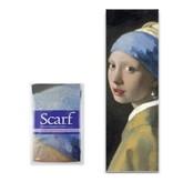 Écharpe, Vermeer, fille à la boucle d'oreille perle, Vermeer
