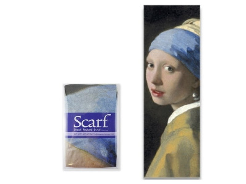 Sjaal, Vermeer, Meisje met de parel, Vermeer