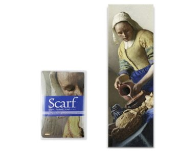 Scarf , Vermeer, The Milkmaid
