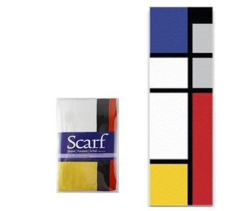 Sjaal, Mondriaan