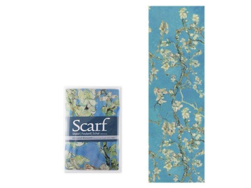 Écharpe, fleur d'amandier Van Gogh