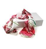Schal, Merian, drei Tulpen