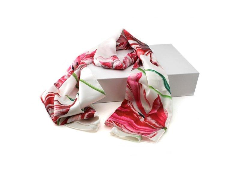 Sjaal , Drie tulpen , Merian