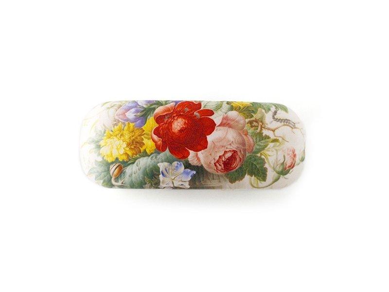 Étui à lunettes, Fleurs dans un vase en verre, Henstenburgh