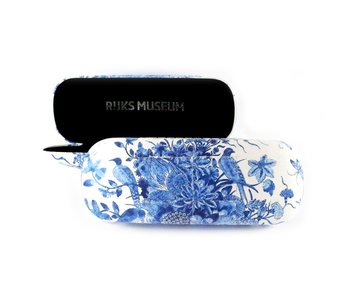 Etui à lunettes, Oiseaux bleus de Delft, RIJKSMUSEUM