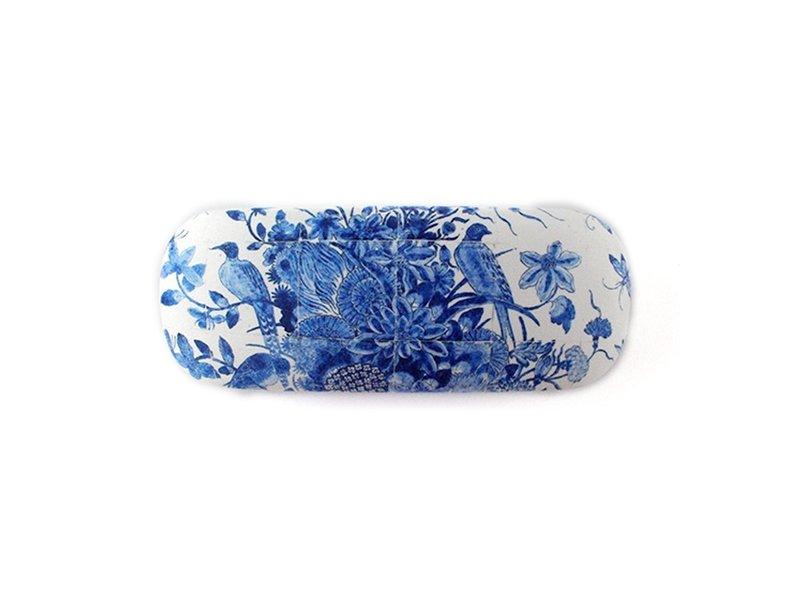 Funda de gafas, pájaros azules de Delft, RIJKSMUSEUM