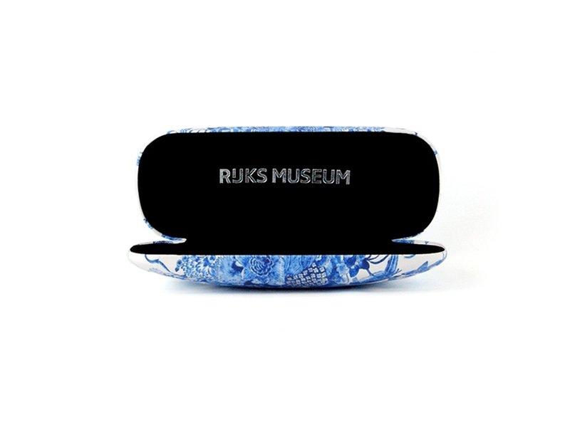 Brillenetui, Delfter blaue Vögel, RIJKSMUSEUM