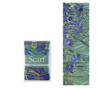 Scarf, Van Gogh Irises