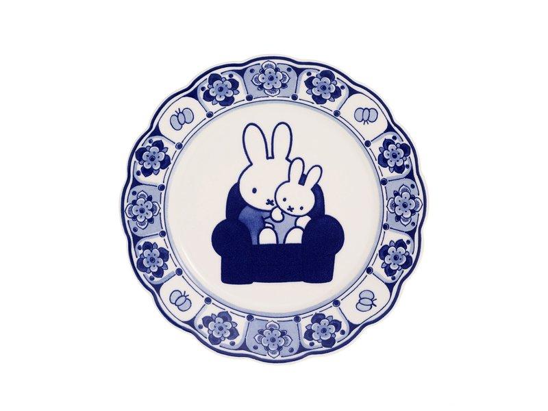 Assiette Delft bleu, ø 22 cm, Miffy