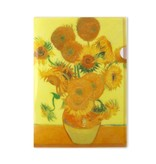 Filesheet A4, Zonnebloemen, Van Gogh