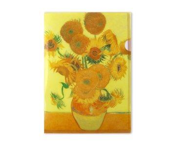 Funda portadocumentos, A4, Girasoles, Van Gogh