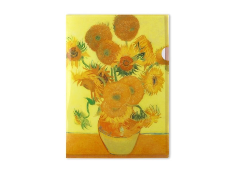 Filesheet A4, Sunflowers, Van Gogh