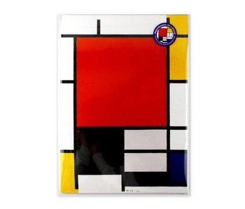 Reproduction A4, Composition, Mondrian