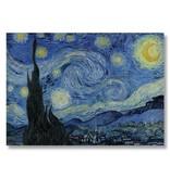 Cartel, 50x70, Noche estrellada, Van Gogh