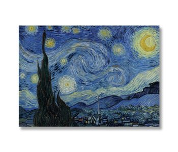 Poster, 50x70 ,Starry Night, Van Gogh