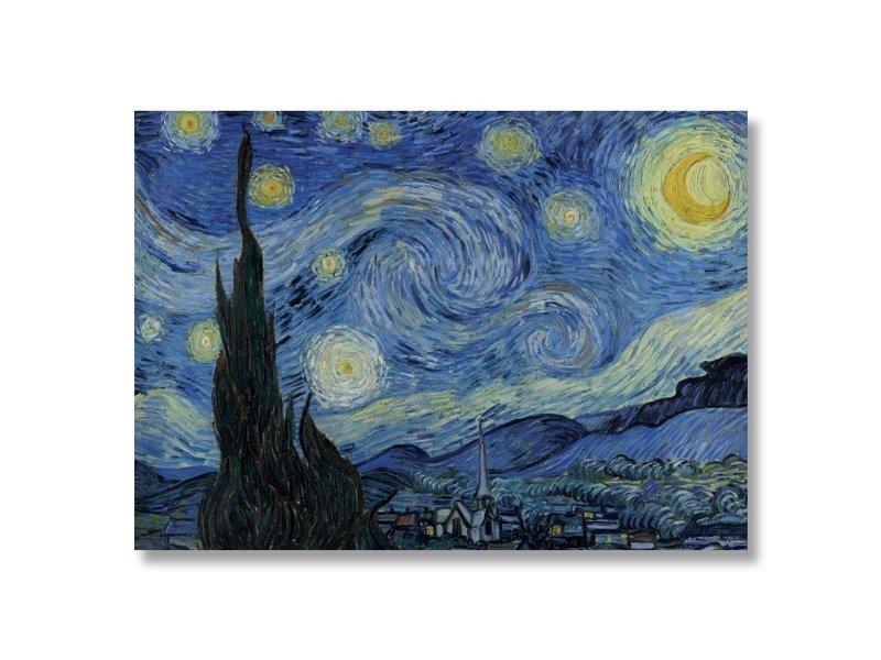 Poster,50 x 70 ,De sterrennacht, Van Gogh