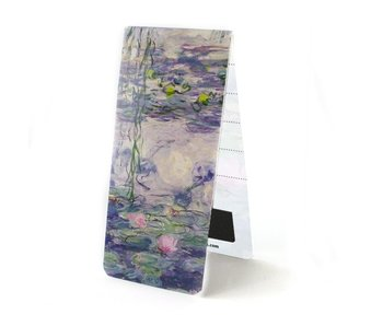 Magnetic Bookmark, Monet, Water Lilies