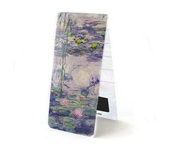 Marcador magnético, lirios de agua, Monet