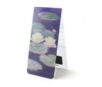 Magnetische boekenlegger, Waterlelies in de avond, Monet