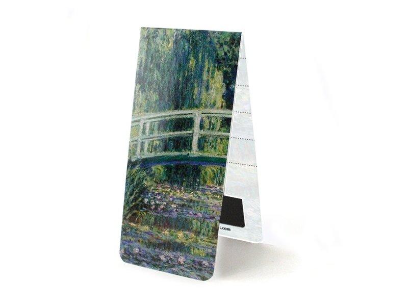 Magnetische boekenlegger ,Japanse brug , Monet