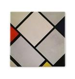 Koelkastmagneet, Lozenge compositie, Mondriaan