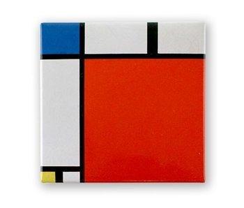 Kühlschrankmagnet, Zusammensetzung II, 1930, Mondrian