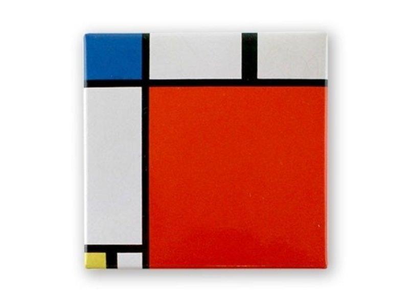 Imán de nevera, Composición II, 1930, Mondrian