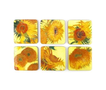 Coasters , Sunflowers, Van Gogh