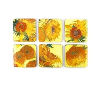 Dessous de verre, tournesols, Van Gogh